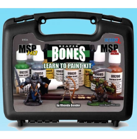 Learn To Paint Bones Kit