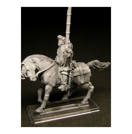Mounted Arquebusier Hero