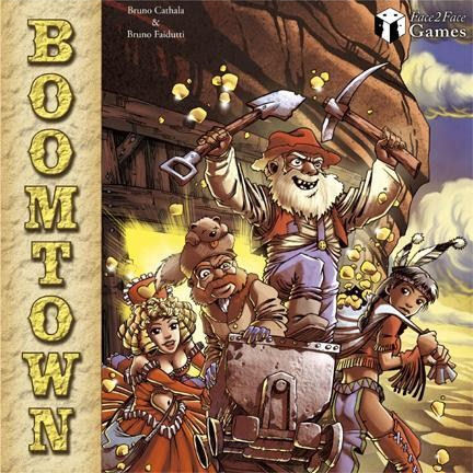BOOMTOWN - English