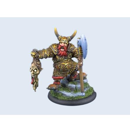 Miniatures, Dwarf Galar the Warrior (1) 54 mm skala