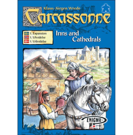 Carcassonne 2.0 exp 1: Inns & Cathedrals (Scand)
