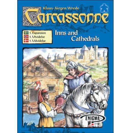 Carcassonne 2.0 exp 1: Inns & Cathedrals (Svenska regler)