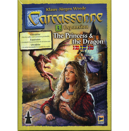 Carcassonne 2.0 exp 3: The Princess & The Dragon (Svenska regler)