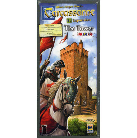 Carcassonne 2.0 exp 4: The Tower (Svenska regler)