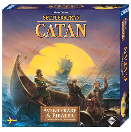 Catan 5th ed Äventyrare & Pirater (Svensk)