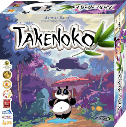 Takenoko Scand Ed (SWE, FIN, NO, DK rules)