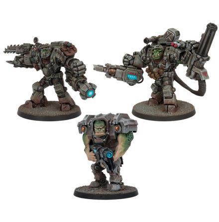 Deadzone Marauder Support Booster (3 Figures)