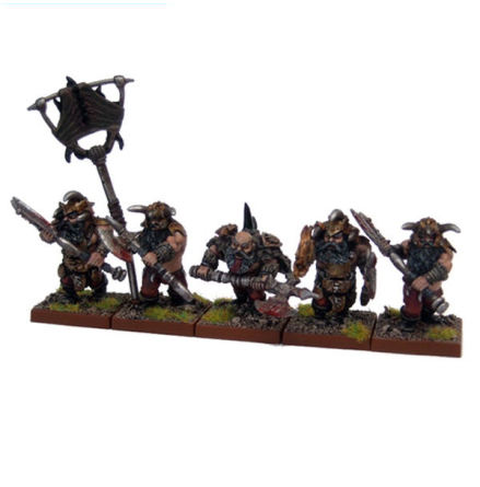 Abyssal Dwarf Berserkers (5)