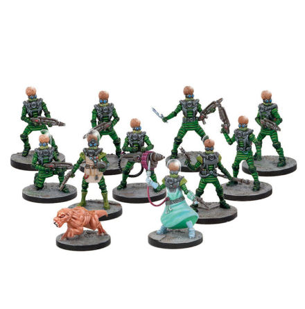 Martian Science Division (11 Figures)