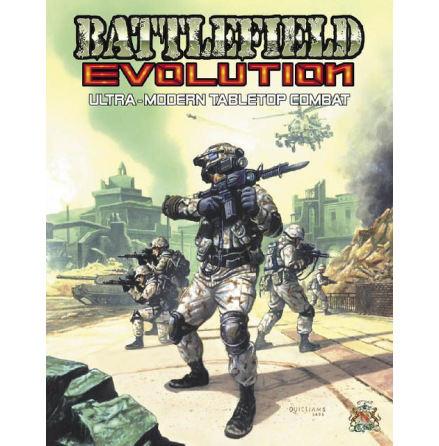 Battlefield Evolution Advanced Rulebook (English) (Hardcover)