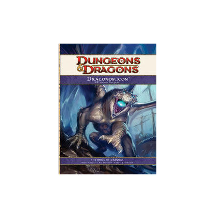 Draconomicon I: Chromatic Dragons (4th ed) (Hardcover)