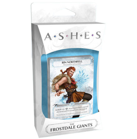 ASHES Expansion deck 2: Frostdale Giants