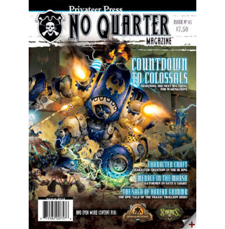 No Quarter Magazine #41