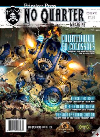 No Quarter Magazine #41
