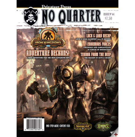 No Quarter Magazine #44