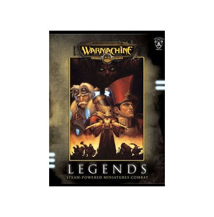Warmachine: Legends softcover