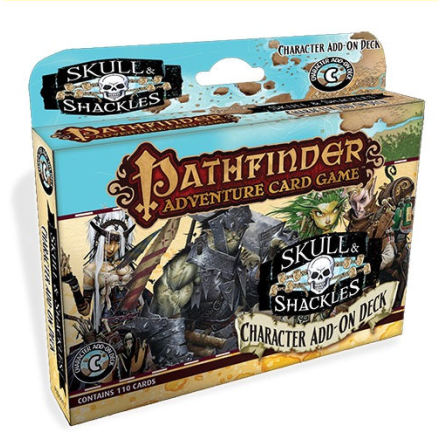 Pathfinder Adventure Card Game: Skull and Shackles Character Add-On Deck