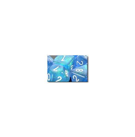 Borealis Sky Blue/white 7-Die Set