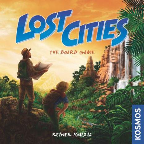 Lost Cities Board Game (Keltis redux)
