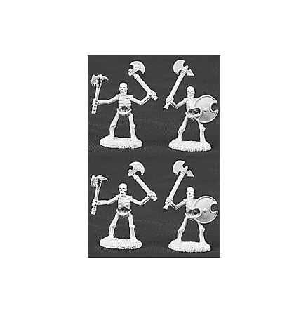 06005Skeletons W/axes Deluxe Army Pack (5)