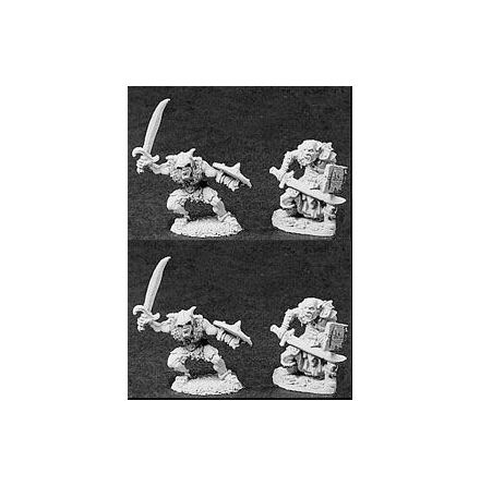06015Orcs W/scimitars Deluxe Army Pack (4)