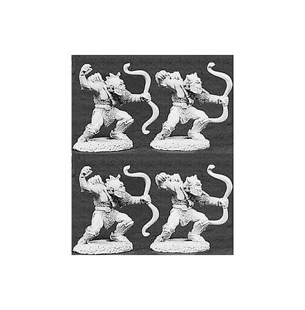 06016Orc Archers (4) Deluxe Army Pack