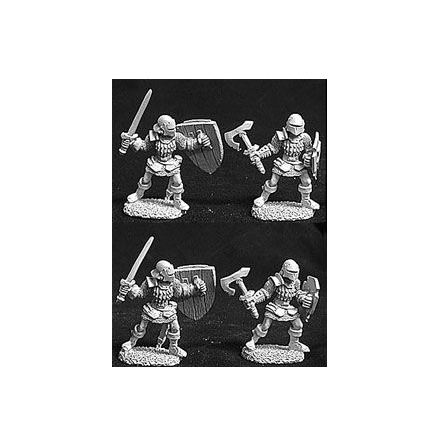 06055Men At Arms Of Malvernis Deluxe Army