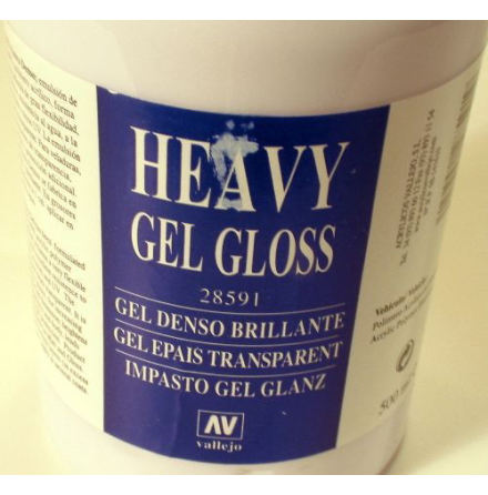 HEAVY GEL GLOSS (TRANSPARENT) 500 ml