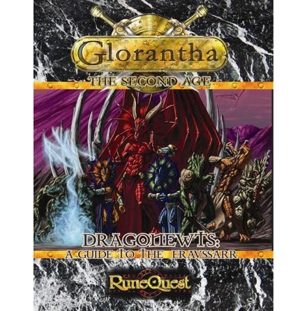 Dragonewts: Guide to the Eravsshar (Hardback)