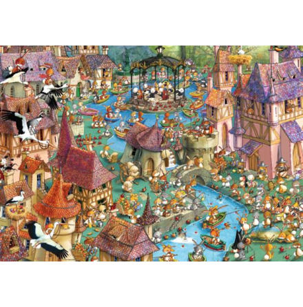 Bunnytown,by Ruyer1000 pieces 48x68 cm