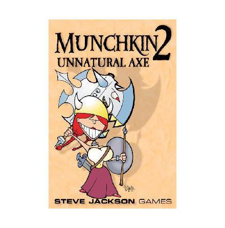 MUNCHKIN 2 - UNNATURAL AXE (Expansion 112 kort)