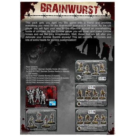 Brainwurst Zombie Attack Starter Set