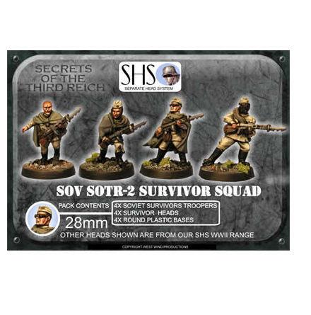 Survivor Squad 2 (SHS) Mixed Heads (4)