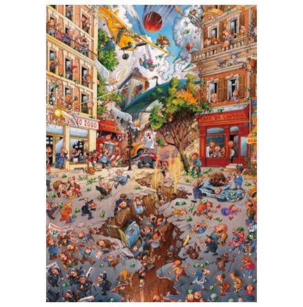Apocalypse, Loup 2000 pieces 68x96 cmTriangular Puzzle Box