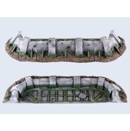 Battlefield Low Fortifications Set #1 (3)