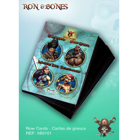 Ron & Bones: Kit de cartas R&B (060002-05)
