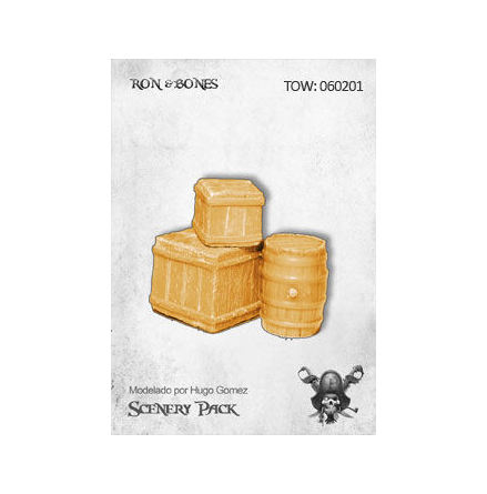 Ron & Bones: Kit de escenografia 1