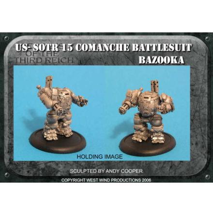 US Battle Suit, Bazooka & Assault Pod