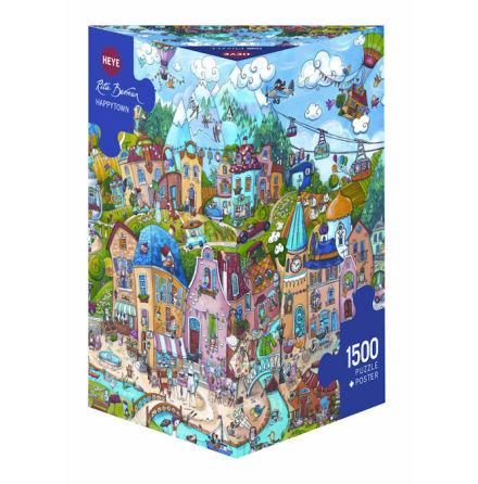 Berman, Happytown 1500 pieces Triangular