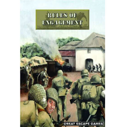 Rules of Engagement Rulebook (WWII) (Hardback)
