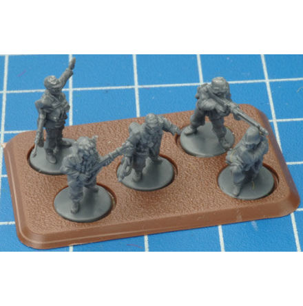 Medium Bases 5 (with Figure Holes) (EARLY, MIDDLE, LATE)