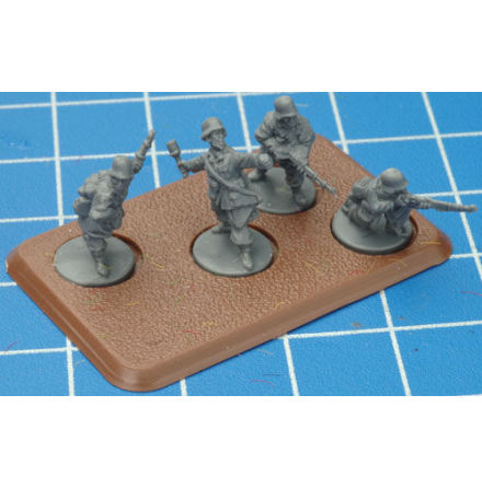 Medium Bases 4 (with Figure Holes) (EARLY, MIDDLE, LATE)