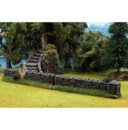 Stone Walls 2 pieces