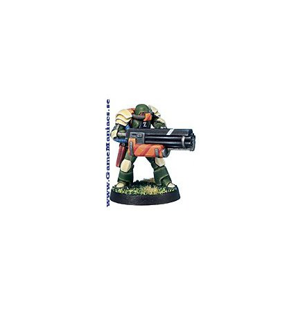 VIRIDIAN ASSAULT MARINE WITH CHAIN GUN (1 per förpackning)