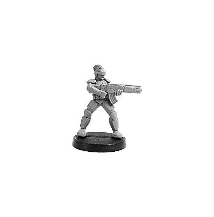 SYNTHA PROSTHENE SERGEANT WITH GAUSS RIFLE (1 figur)