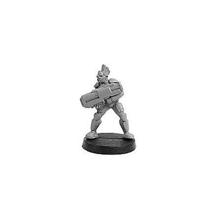 SYNTHA PROSTHENE SERGEANT WITH PULSE RIFLE (1 figur)