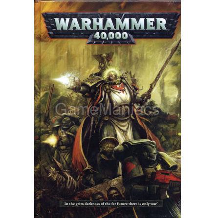 40K (WARHAMMER 40,000) RULEBOOK (2012) (REA - NETTOPRIS!)