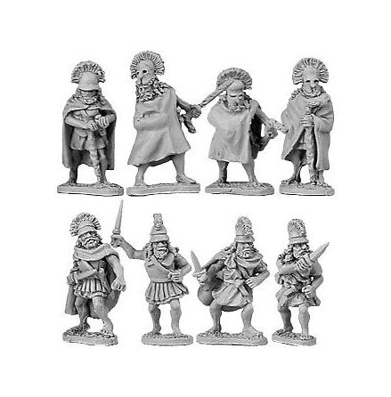 Spartan Generals & Officers (8)