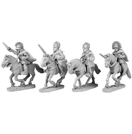 Mounted Spartan generals (4)
