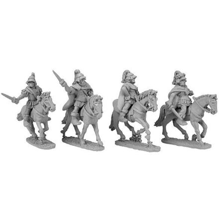 Mounted Theban Generals (4)